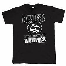 Wolfpack Stag Do Personalised T Shirt - Custom Design