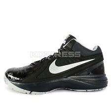 Nike The Overplay VIII [637382-015] Basketball Black/Metallic Silver-Grey
