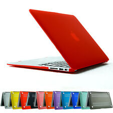 Rubberrized Case Cover Frosted Protceted For Apple MacBook Air 11.6'' 13.3''