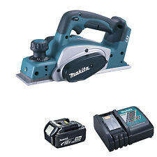 MAKITA 18V LXT DKP180 DKP180Z PLANER, BL1840 BATTERY AND DC18RC CHARGER