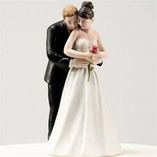 Wedding Cake Topper Couple Groom Bride Figurine Resin DIY Home Party Supplies H9