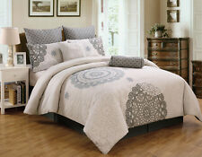 12 Piece Antheia 100% Cotton Bed in a Bag Set