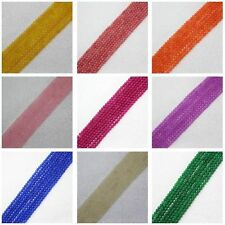 """4mm Multicolor Jade Round DIY Jewelry Making Loose Beads 15"""""""