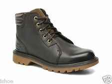 MENS CAT CATERPILLAR UTILITY CHUKKA LEATHER LACE UP ANKLE BOOTS SIZES 6-10 NEW