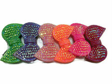New Bow Kids Girls Hair Bands Elastic Ponytail Tie Hairband Bobbles