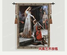 Tapestry queen's knight big tapestry wall hangings decorative fabric picture