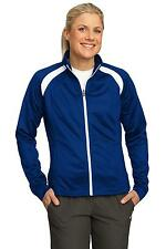 LST90 Sport-Tek Tricot Track Ladies' Jacket NEW