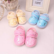 Non-Slip Newborn Infant Baby Toddler Soft bottom Shoes 3Colors Girls Boys US