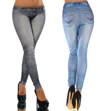 Sexy Womens Skinny Denim Stretch Jeggings Tight Trousers Jeans Pants Leggings