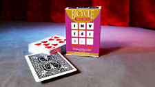 INVISIBLE BICYCLE 808 RIDER BACK BLACK DECK GIMMICKED PLAYING CARDS MAGIC TRICKS