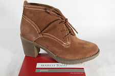Marco Tozzi Ladies Boots Ankle Boots Winter Boots Leather brown new