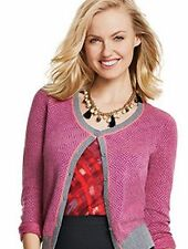 NEW CAbi Meg Cardigan 2015 Fall - Pretty Pattern Lighten the Mood - Size S, L