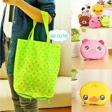Eco Storage Handbag Cotton Kawaii  Foldable Shopping Tote Reusable shopping Bags