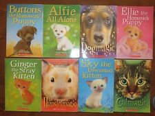 Lot 8 HOLLY WEBB Dogmagic Catmagic Puppy Kitten Hamstermagic
