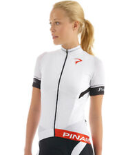 PINARELLO TOUR WOMENS CATENA BIKE JERSEY WHITE/BLACK 2015