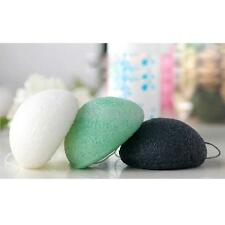 Natural Konjac Konnyaku Fiber Face Wash Cosmetic Washing Cleansing Sponge Puff