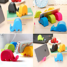 2015 New Style Elephant Phone Holder Universal Coloful Stands CellPhone Holder