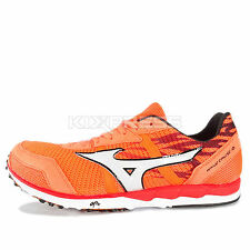 Mizuno Wave Cruise 10 [U1GD156099] Running Orange/White