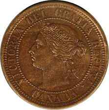 Canada 1891 Cent LL LD Large Leaves Large Date KM-7 *FREE U.S. SHIPPING*