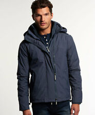 Superdry Mens Hooded Arctic Windcheater Winter Jacket Coat Charcoal (#9677)