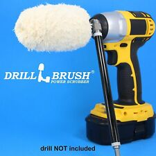 Drill Power Wheel Buffer Polisher Cleaner with Long Reach Extension