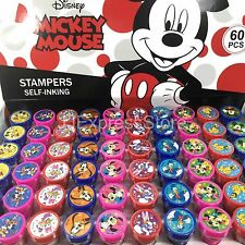 Disney Mickey & Minnie Mouse Self Ink Stamps Birthday Party Favors Bag Filler~