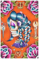 Mildred Fine Art Print by Dave Sanchez Day of the Dead Sugar Skull