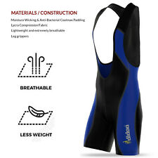 New Mens Padded Cycling Bib Shorts Bike Tight Leggings Sports Outdoor Training