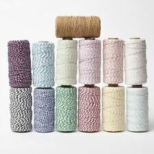 Bakers Twine Butchers Craft Gift Wrap DIY String Decoration Ribbon - 100m Roll
