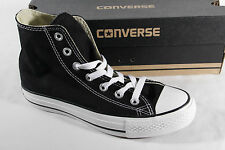 Converse All Star Boots, Black, Textile/Canvas, M9160C NEW