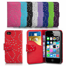 Diamond Bling Gliter Flip Wallet Case Cover For Nokia Lumia 530 / RM-1018 Phone
