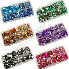 Rhinestones in 3mm, 5mm, 6mm, 7mm, 10mm in Mixed Colour