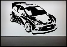Rally Car Racing Car Wall Sticker Bedroom Decal Mural Wall Art