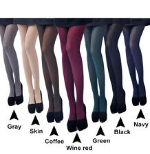 80D Opaque Footed Tights Sexy Women's Pantyhose Stockings Socks Multi-Colour Lot