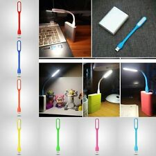 Computer Keyboard Study Reading Notebook Laptop PC Flexible USB LED Light Lamp