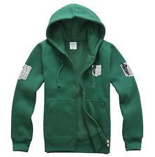 Japanese anime Attack on Titan  Hoodie Cashmere coat ,Cosplay unisex Costume