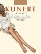 KUNERT LEG CONTROL 70 Women's Support tights opaque Shiny Pantyhose
