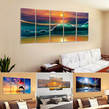 4 Styles US Stock Framed Picture HD Canvas Print Wall Art Painting READY TO HANG