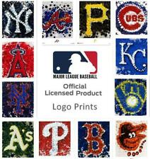 "NEW Officially Licensed Art MLB Baseball Abstract Logo Poster Print 16x20"" CHOP"