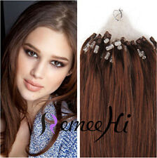 2015 New 100S 50G Human Hair Micro Ring Loop Tip Remy Human Hair Extensions