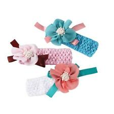 Girls Boys Baby Kids Headbands Flower Hair Accessories Infant Hair Band