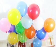 """New MIX Latex Helium Balloons Ballons *100X10"""" Party Weding Birthday Multicolor"""
