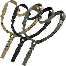 One Single Point Sling Tactical Sling Adjustable Bungee Strap with QD Buckle