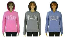 Gap Women's Hoodie Pink, Gray or Blue Pullover Hooded Logo Sweatshirt New w/Tags