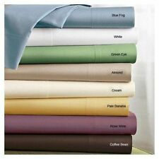 100%Bamboo Solid Organic Cotton Bedding item All Color & Size Fast shiping