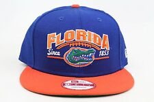 University of Florida Gators Royal Orange White NCAA New Era 9Fifty Snapback Hat