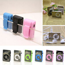 New USB Clip MP3 Music Media Player Mini Clip Metal Support 8GB Micro SD TF Card