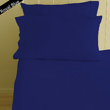 1000TC EGYPTIAN COTTON BEDDING ITEM-SHEET SET/DUVET/FITTED ALL SIZE ROYAL BLUE