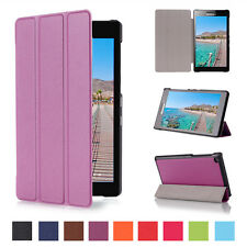 Smart PU Leather Magnetic Folding case Stand Flip Cover For Lenovo Tab tablet PC