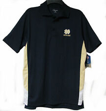 OFFICIAL NOTRE DAME FIGHTING IRISH CHILIWEAR NAVY POLO GOLF SHIRT BNWT NEW